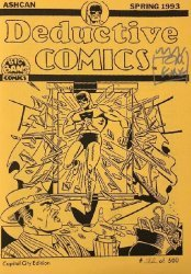 Big Bang Comics's Deductive Comics Issue ashcan