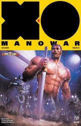 Valiant Entertainment's X-O Manowar Issue # 1atomic comics