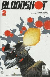 Valiant Entertainment's Bloodshot Issue # 2