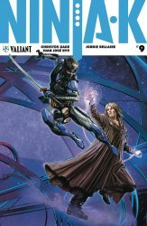 Valiant Entertainment's Ninja-K Issue # 9c