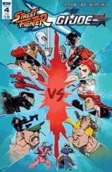IDW Publishing's Street Fighter x G.I. Joe Issue # 4sub