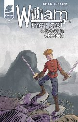 Antarctic Press's William: The Last Shadows of the Crown Issue # 4