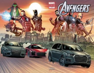 Marvel Comics's Avengers: Audi Custom Edition Issue # 1