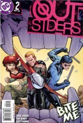 DC Comics's Outsiders Issue # 2