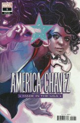 Marvel Comics's America Chavez: Made in the USA Issue # 1c