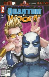 Valiant Entertainment's Quantum & Woody Issue # 2