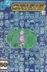 DC Comics's Crisis on Infinite Earths Issue # 5