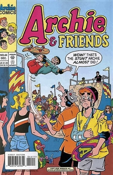 Archie Comics Groups Friends Issue 44