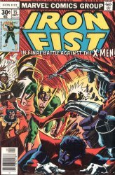 Marvel Comics's Iron Fist Issue # 15