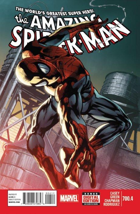 The amazing spider man 700f marvel comics - Marvel spiderman comics pdf ...