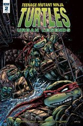 IDW Publishing's Teenage Mutant Ninja Turtles: Urban Legends Issue # 2ri