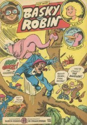 3-D Cosmic Publications's Fun with Basky and Robin Issue # 8