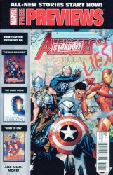 Marvel's Marvel New Stories Start Now!: Previews Issue # 1