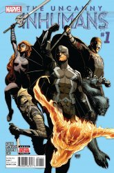 Marvel Comics's The Uncanny Inhumans Issue # 1