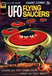 Gold Key's UFO Flying Saucers Issue # 1whitman