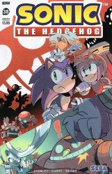 IDW Publishing's Sonic the Hedgehog Issue # 38b