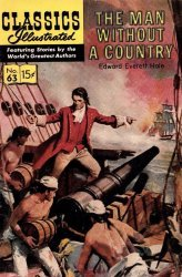 Gilberton Publications's Classics Illustrated #63: The Man Without a Country Issue # 6