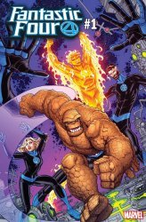 Marvel Comics's Fantastic Four Issue # 1y