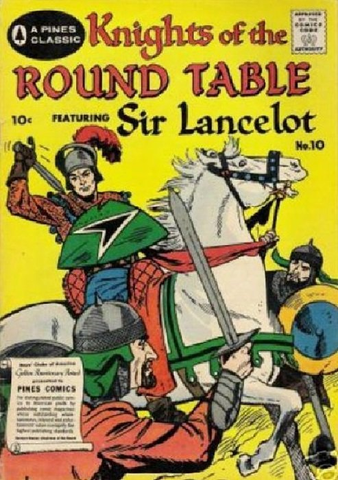 Knights of the round table 10 pines comics for 10 knights of the round table