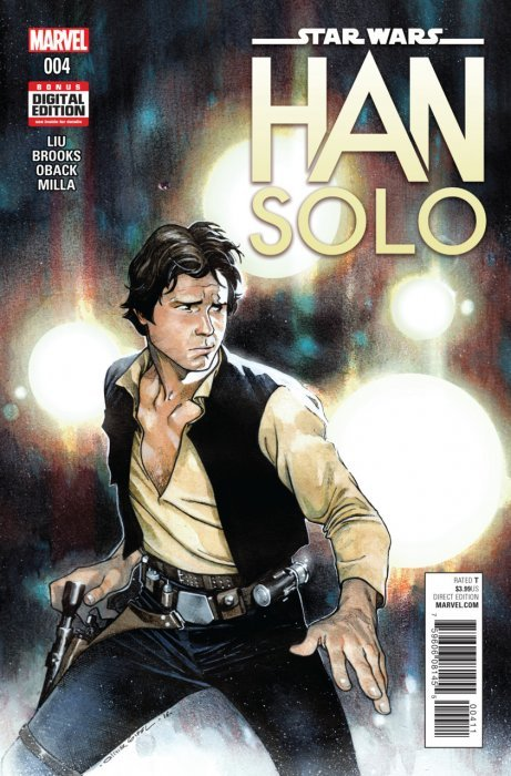 Star Wars SDCC Variant Han Solo #1 Marvel NM//NM 2016