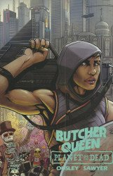 Red 5 Comics's Butcher Queen: Planet of the Dead Issue # 1