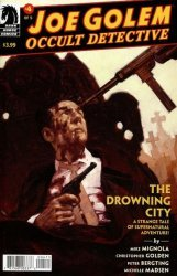 Dark Horse Comics's Joe Golem: Occult Detective - Drowning City Issue # 4