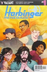 Valiant Entertainment's Harbinger: Renegade Issue # 1nerd block