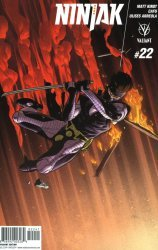 Valiant Entertainment's Ninjak Issue # 22d