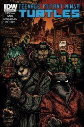 IDW Publishing's Teenage Mutant Ninja Turtles Issue # 39b