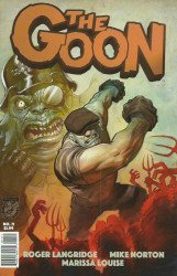 Albatross Exploding Funny Book's Goon Issue # 11