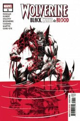Marvel Comics's Wolverine: Black, White & Blood Issue # 1a error