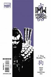Marvel Comics's Immortal Weapons Issue # 3