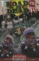 IDW Publishing's Road of The Dead: Highway to Hell Issue # 2b