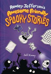 Amulet Books's Rowley Jeffersons Awesome Friendly Spooky Stories Hard Cover # 1