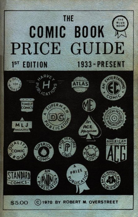 Overstreet Comic Book Price Guide TPB # 34b (Gemstone
