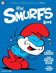 Papercutz's The Smurfs 3-In-1 Soft Cover # 1