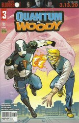 Valiant Entertainment's Quantum & Woody Issue # 3d