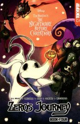 TokyoPop/Mixx's Tim Burton's Nightmare Before Christmas: Zero's Journey Soft Cover # 4