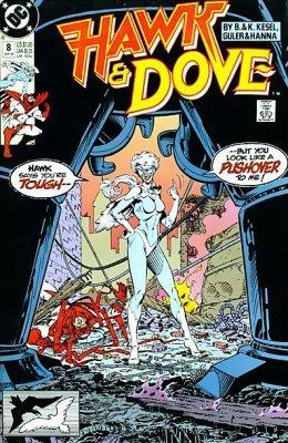 Hawk and Dove 1989 series # 7 near mint comic book
