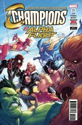 Marvel Comics's Champions Issue # 21