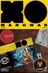Valiant Entertainment's X-O Manowar Issue # 4knowhere