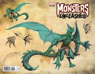 Marvel Comics's Monsters Unleashed Issue # 1f
