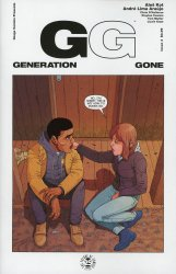Image Comics's Generation Gone Issue # 4