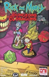 IDW Publishing's Rick and Morty vs Dungeons & Dragons Issue preview