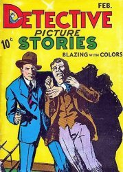 Comics Magazine Co.'s Detective Picture Stories Issue # 3