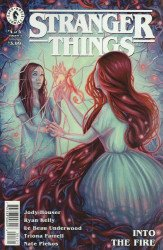 Dark Horse Comics's Stranger Things: Into the Fire Issue # 4b