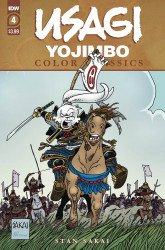 IDW Publishing's Usagi Yojimbo Color Classics Issue # 4