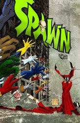 Aardvark-Vanaheim's Spawn Ten Issue # 1b