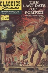 Gilberton Publications's Classics Illustrated #35: Last Days of Pompeii Issue # 1e