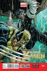 Marvel Comics's Wolverine and the X-Men Issue # 23